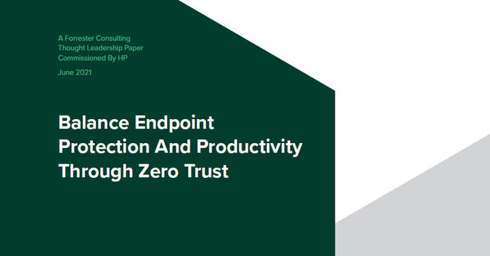 Balance Endpoint Protection and Productivity Through Zero Trust