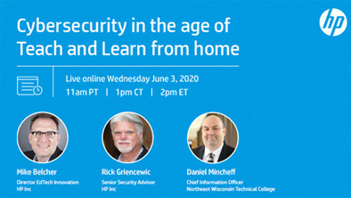 Webinar: Cybersecurity in the Age of Teach and Learn from Home