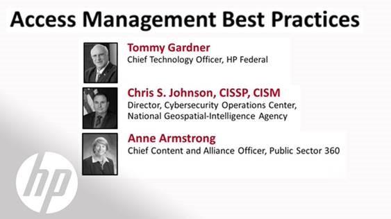 FCW CDM Summit - Access Management Best Practices